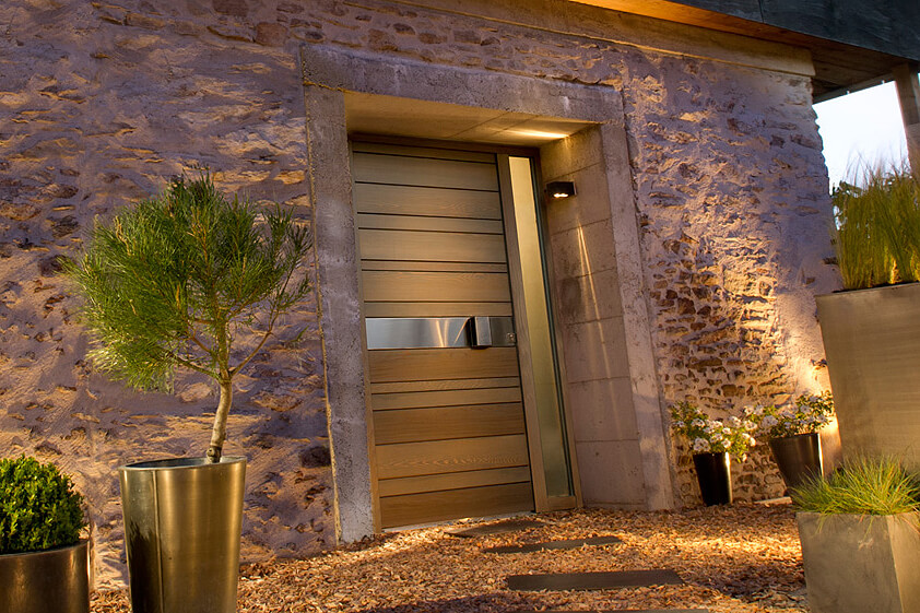 zilten portes d entree bois Red Cedar Nativ 2